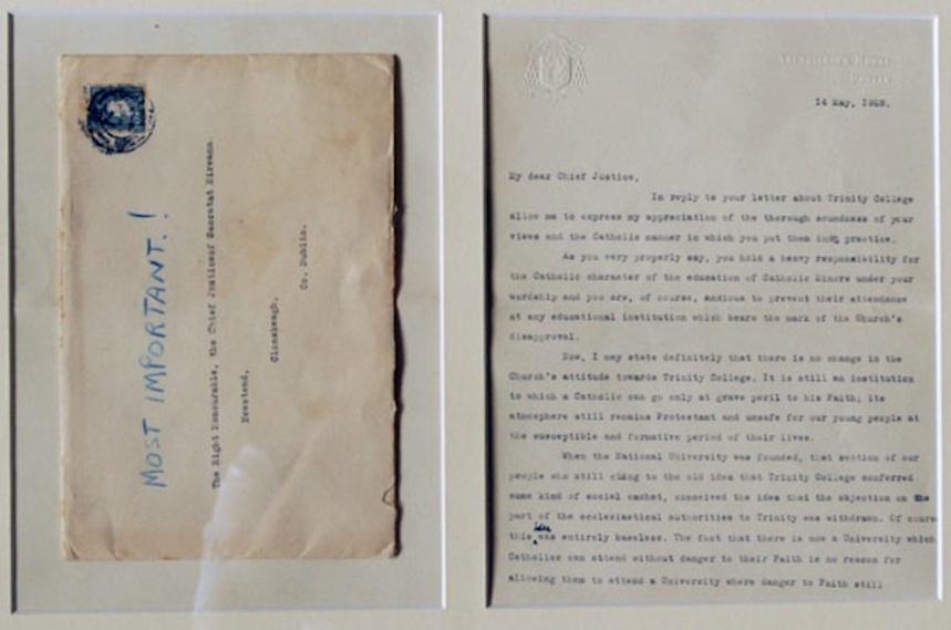 Archbishop letter
