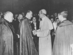 Archbishop McQuaid and Pope Pius XII