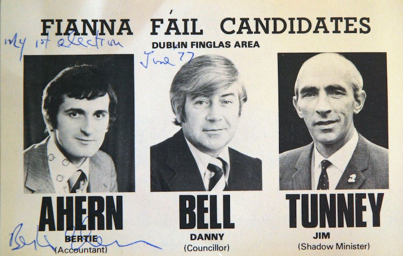 Bertie Ahern election leaflet