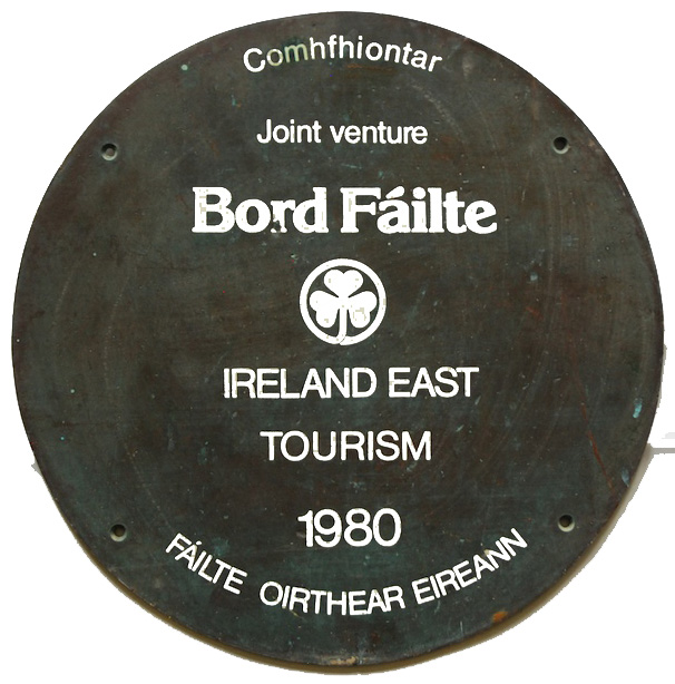 Bord Failte sign 1980