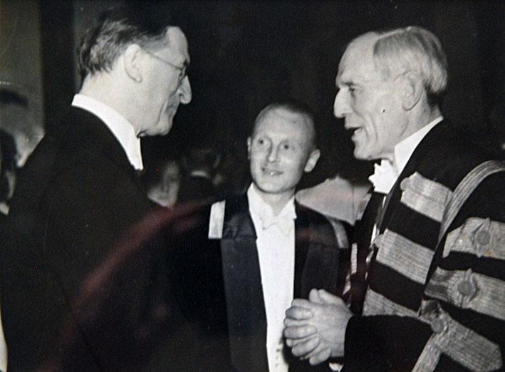 Eamonn de Valera and Bethel Solomons