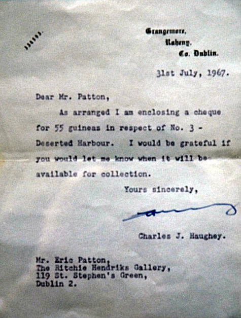 Haughey letter