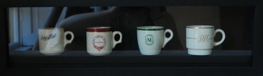 Hotel teacups