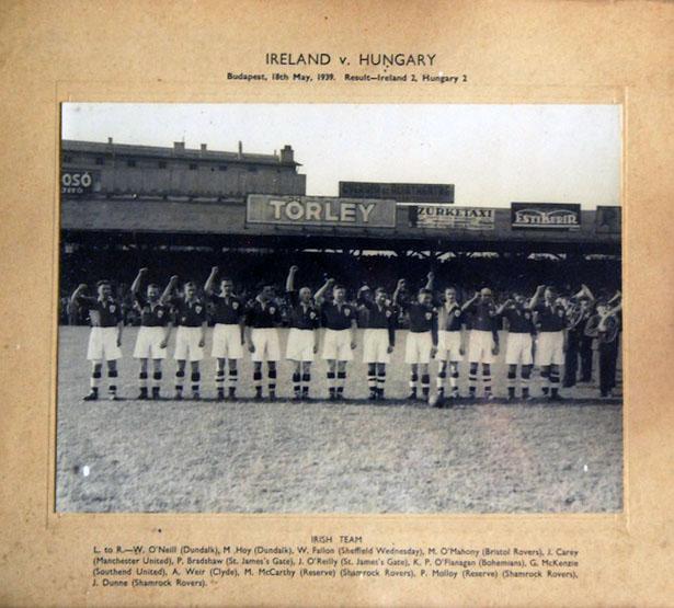 Ireland v Hungary