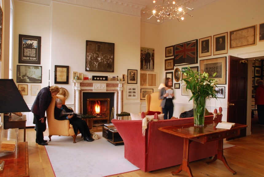 little museum of dublin front room
