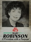 Mary Robinson election poster, 1990
