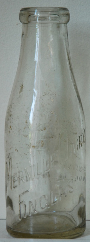 Merville dairy milk bottle