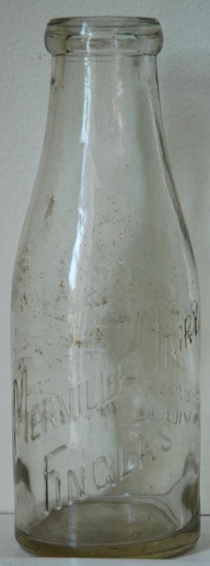 Merville dairy milk bottle