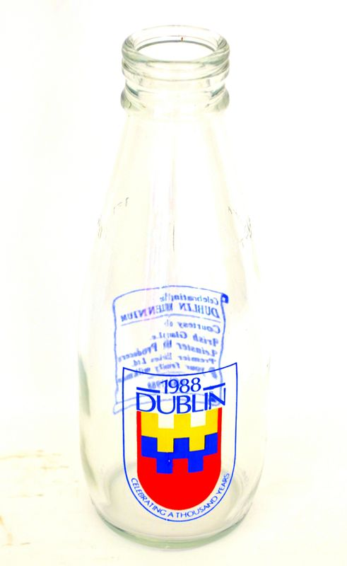 Millennium Milk Bottle