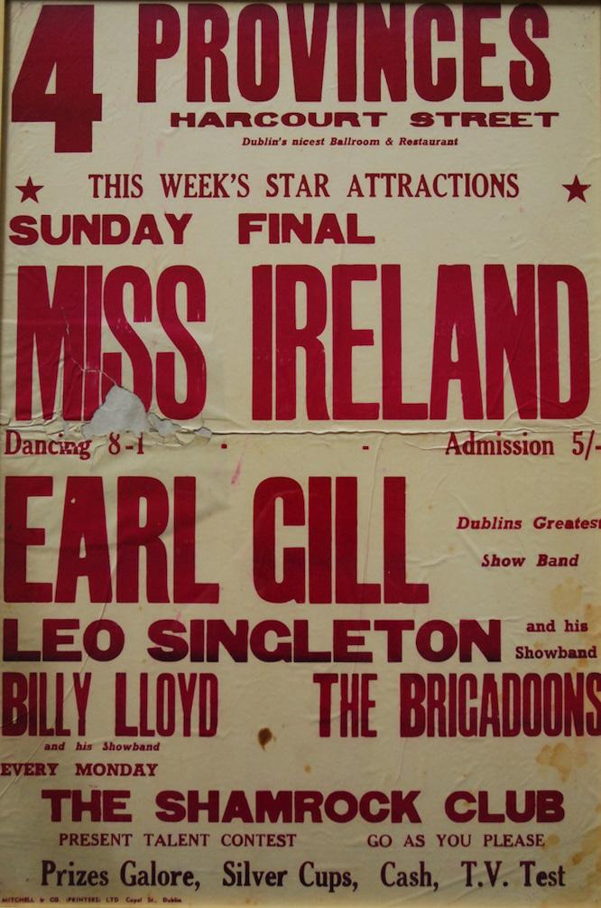Miss Ireland poster