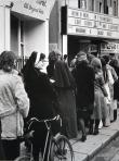 Nun at Green cinema, 1971