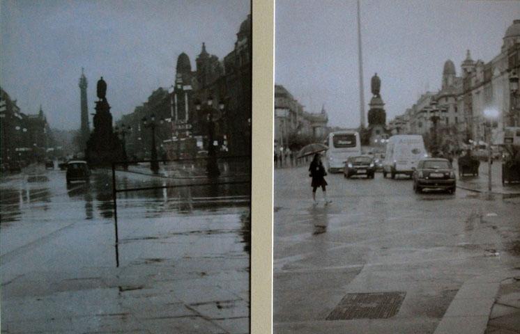 O'Connell St rain