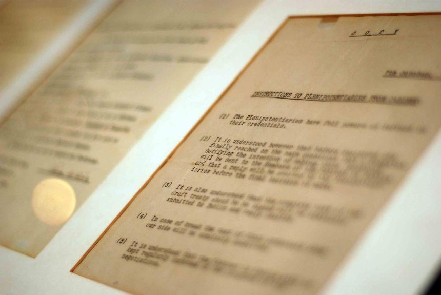 Anglo-Irish Treaty, 1921