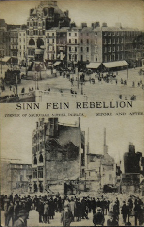 THE SINN FEIN REBELLION PICTURE SOUVENIR BOOK 1916. 31 VIEWS. VGC. V.INTERESTING