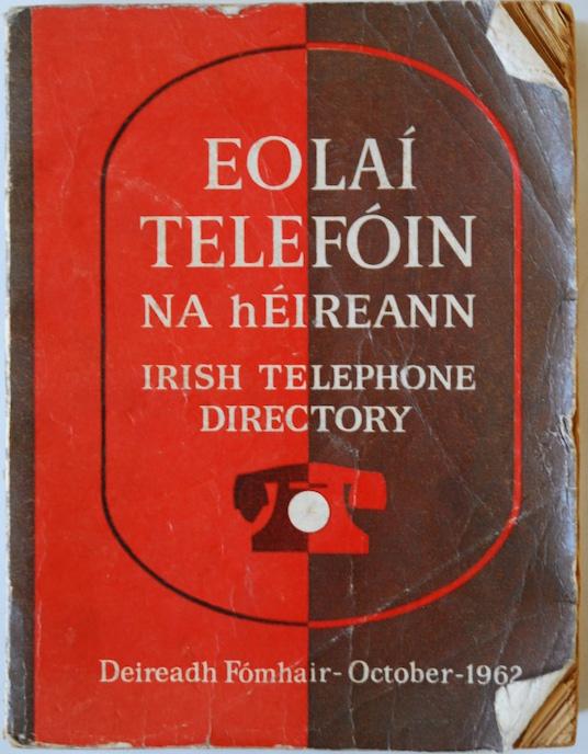 Telephone directory 1962