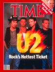 U2 on Time magazine, 1987