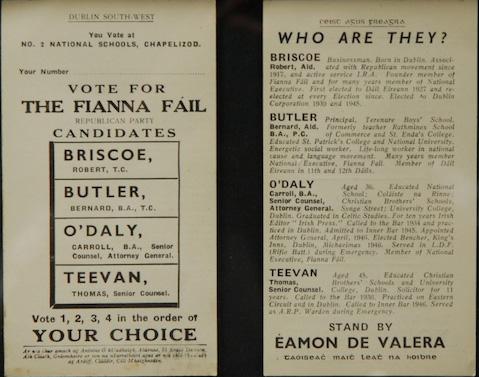 Vote Fianna Fail