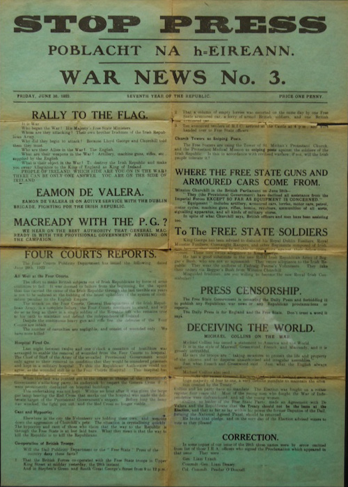 War News no.3