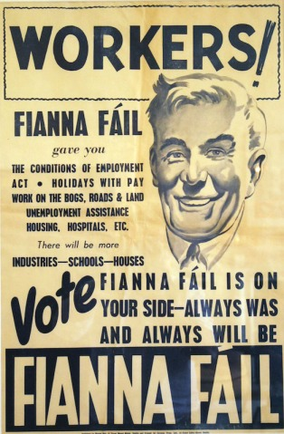 Workers vote Fianna Fail