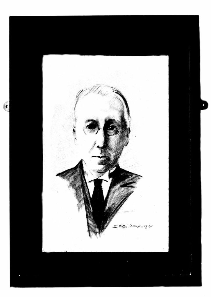 Brendan Bracken Pencil Sketch by Sean Dixon, 1941