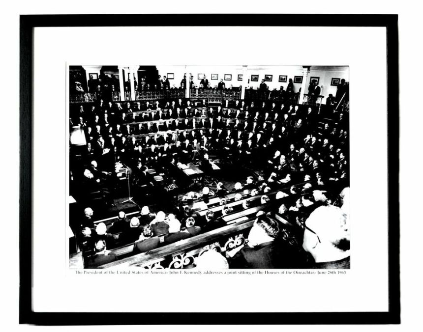 JFK addresses The Dail